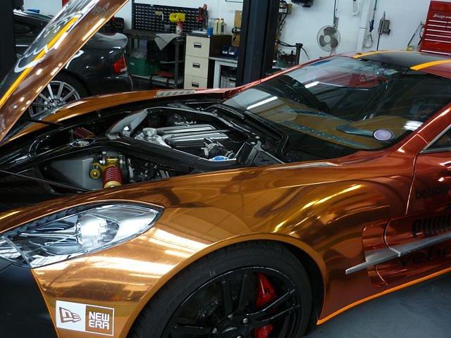 Aston Martin Factory Visit